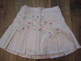 Красивая юбка MARKS&SPENCER на 6-9 мес и старше