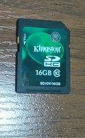 Флешка Kingston SDHC 16GB