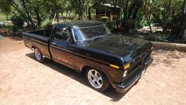 1970 For F100 Hot rod, Ford 302 motor (V8) , Airocn & power steering.