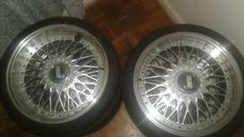 "17"" BBS mags with tyres"