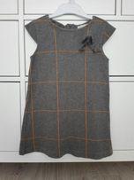 Zara sukienka 104 110 święta