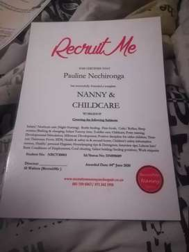 QUALIFIED SLEEP  IN NANNY/ CLEANER  IS LOOKING FOR JOB.