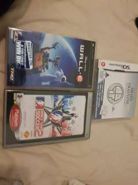 PSP GAMES AND NINTENDO GAME