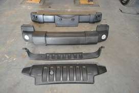 Jeep Wrangler JK Front and Rear Bumpers