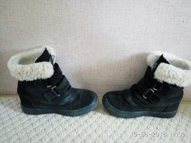 Польские зимние замшевие ботинки Mrugyla, 26 размер Киев - изображение 6