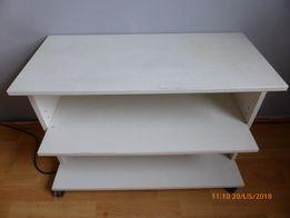 stolik RTV biały