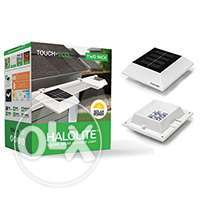 2 Sets Square Solar Lights by Halolite 0