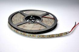 Светодиодная лента в силиконе SMD 3528-120led/m желтая