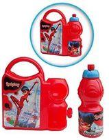 Ланчбокс с бутылочкой Леди Баг и Супер Кот