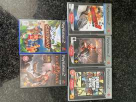Nostalgic PS2 Games (Great Condition)