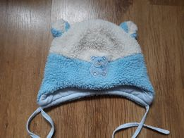 Zimowa czapka dla niemowlaka