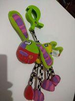 На коляску, на каляску игрушка, іграшка, собачка playgro (chicco)