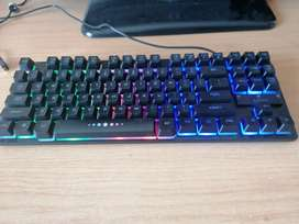 Great pro player LED key board and gaming mouse