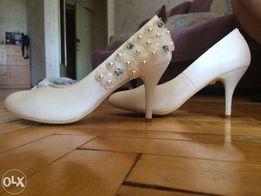 Свадебные или вечерние туфли Золушки!)