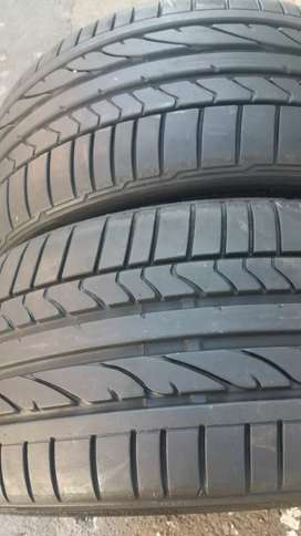 Two seconds hand tyres 225/35/19 Bridgestone run flat now available