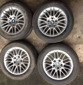 BMW 5 series 16 inch Rims with tyres