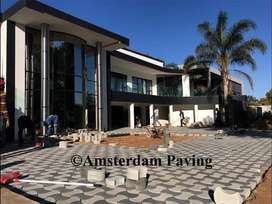 Amsterdam Paving - Hand crafted Decorative Paving.