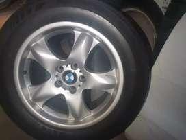 BMW rim and tyre SUV
