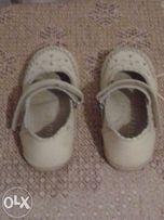 Туфельки котофей для девочки 23 размера 15 см стелька