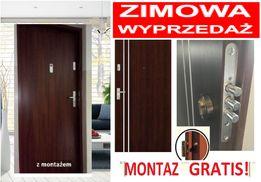 ANTYWŁAMANIOWE drzwi zewnętrzne do mieszkań w bloku..Montaż GRATIS