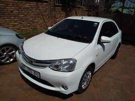 Toyota Etios 1.5 Sedan Manual For Sale
