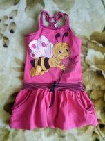 Летнее платье для девочки 100 рублей