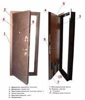 Двери стальные входные усиленные, перегородки, металлоконструкции