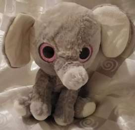 Toy Eliphant With Pink Glitter Eyes