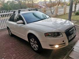 2006 audi A4 2.0tdi 6speed in excellent condition