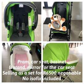 Peg Perego Pram and attachments for sale