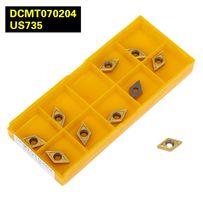 Токарные пластины ромб DCMT 070204 -набор 10 шт для резцов 8,10,12 м