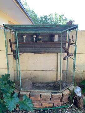 2x bird cages for sale