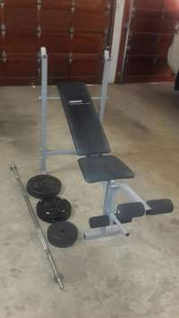 Image of Trojan BenchPress 50kg Weights NEW