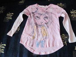 Продается футболка розовая с рисунком для девочки