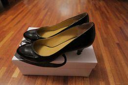nine west pantofle obcas 5,5cm lakierowane