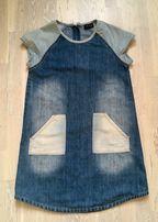 Джинсовое платье- сарафан Next в отличном состоянии