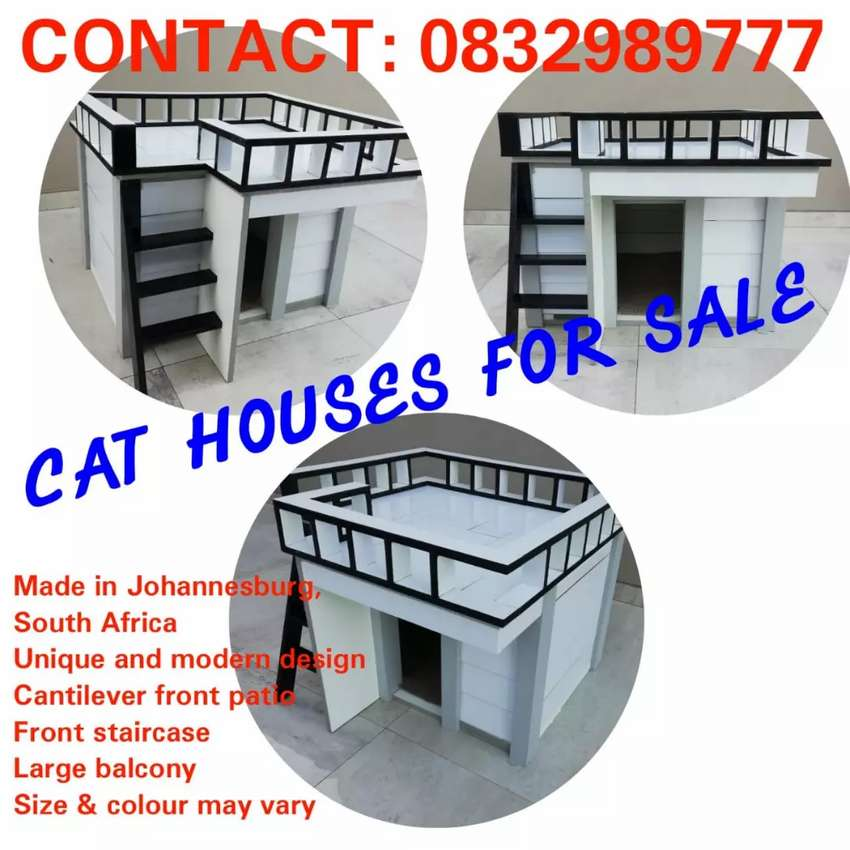 Cat house smart and modern