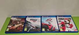 Like new PS4 games Price for All