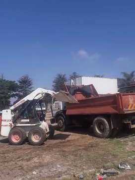 Rubble removal /6 cubes/10 cubes/tippers/bobcat