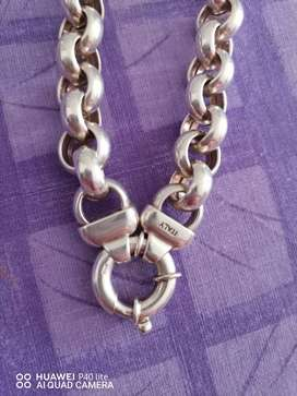 Silver Ladies Rolle Italy Chain For Sale