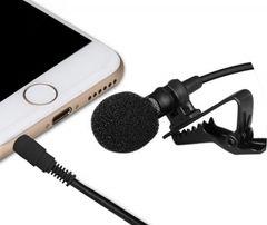 Петличный микрофон для смартфона, iphone, планшета. Петличка на одежду