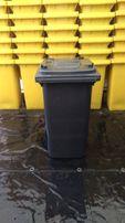 Pojemniki na odpady 240l na śmieci kosze kontenery niemieckie grafit