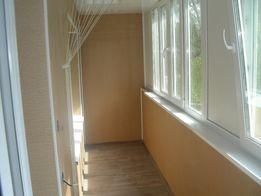 Внутренняя отделка балконов и лоджий.