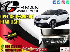 Opel new and used spares-opel crossland x headlights