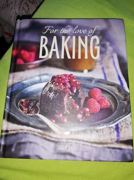 For The Love of Baking - Sarah Dall (Book)