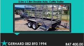 New trailers for sale. Excellent Quality. SABS approved