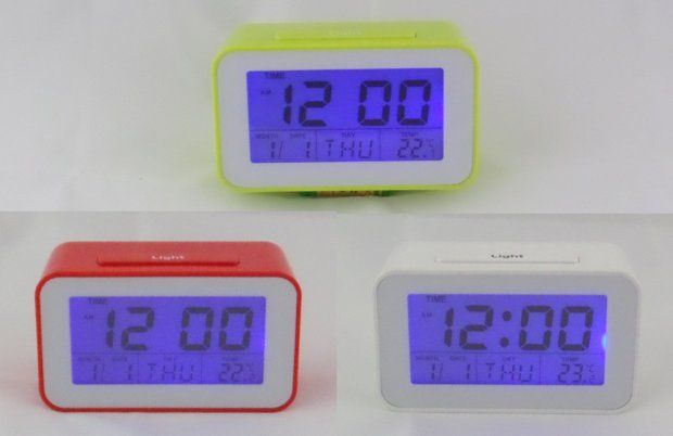 Cyfrowy zegarek, termometr, budzik, timer - 3 kolory - NOWE Augustów - image 2