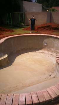 Image of Swimming pool construction