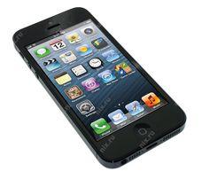 На запчастини Apple iPhone 5(чорний)
