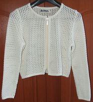 Sweter siatkowy bawełniany 38 Mirha